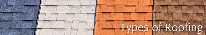 Different Types of Roofing Materials in NJ, including Toms River, Brick & Ocean Township.