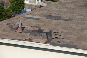 Roof Shingle Blow-off Repair in Toms River, Brick
